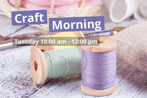 craft morning