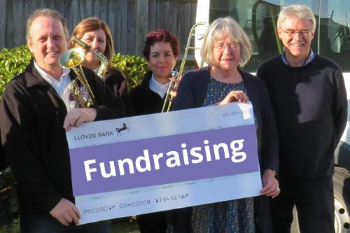 fundraising link