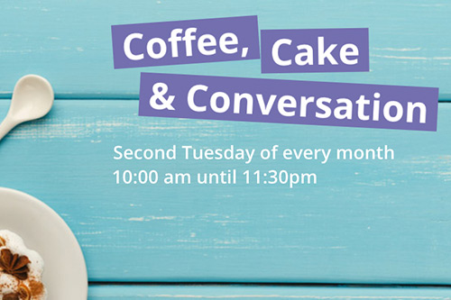 coffee cake and conversation