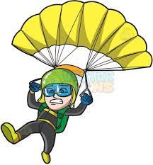 parachute for charity