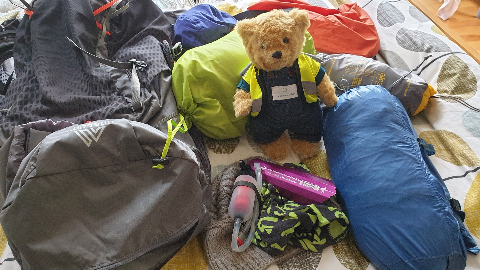 The Sorting Office Bear packing